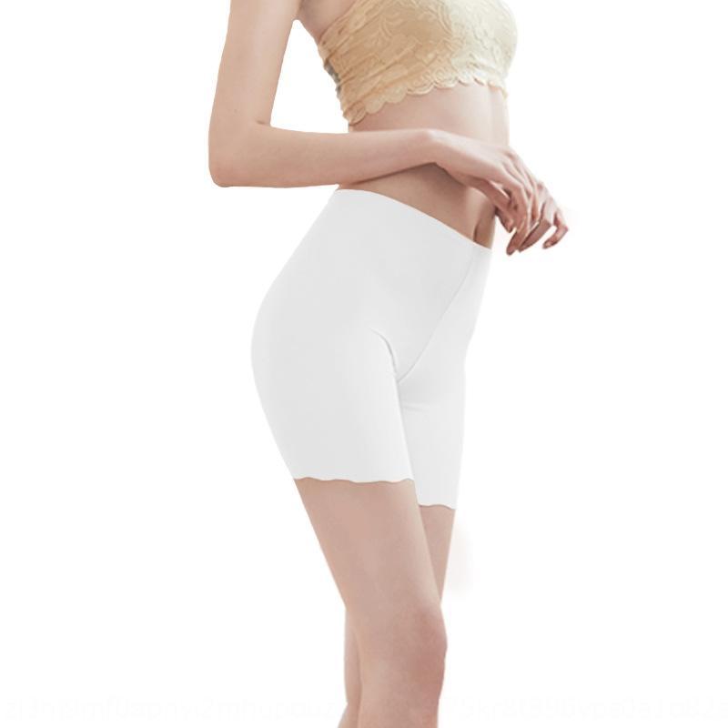 BJkcz 2019 весной и летом женщины льда шелк большой Узкие брюки гетры размера бесшовные боксера против воздействия безопасности брюки безопасности белье пьет