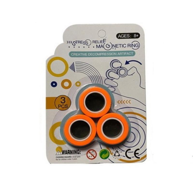 Çocuk Bulmaca basınç oyuncak Manyetik bilezik yüzük yüksek kaliteli çevre koruma hem erkek ve kız azaltın Aydınlanma