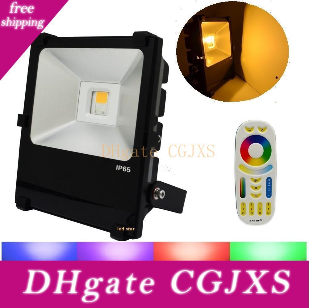 Milight Led Gıda Işıklar 35w RGBW Led Projektörler outdoo Su geçirmez Ac 110 -240v + Yeni 2'nin .4g Uzaktan Kumanda Aydınlatma