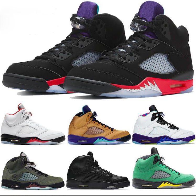 جديد bel grap 5s أحذية كرة السلة jumoman أعلى 3 أسود أبيض لامع رياضة رياضية فضة النار الأحمر الطازج الأمير الأمير من جلد الغزال المدربين الرجال الأحذية