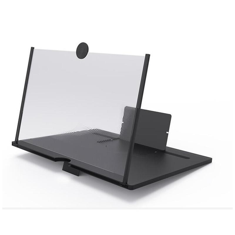 10 بوصة شاشة شاشة الهاتف المحمول مكبر للصوت مكبرات الصوت سحب الهاتف مكبر للصوت الشخصية أكبر زاوية فيديو 3D شاشات مكبرات الصوت YYA438 20PCS