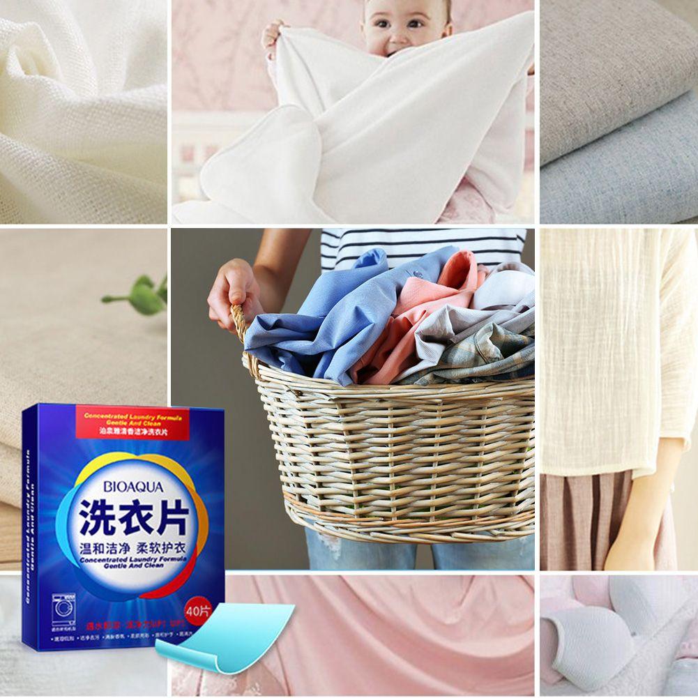 2 Hojas de lavandería Detergente en Polvo Concentrado Fórmula Súper Lavadora