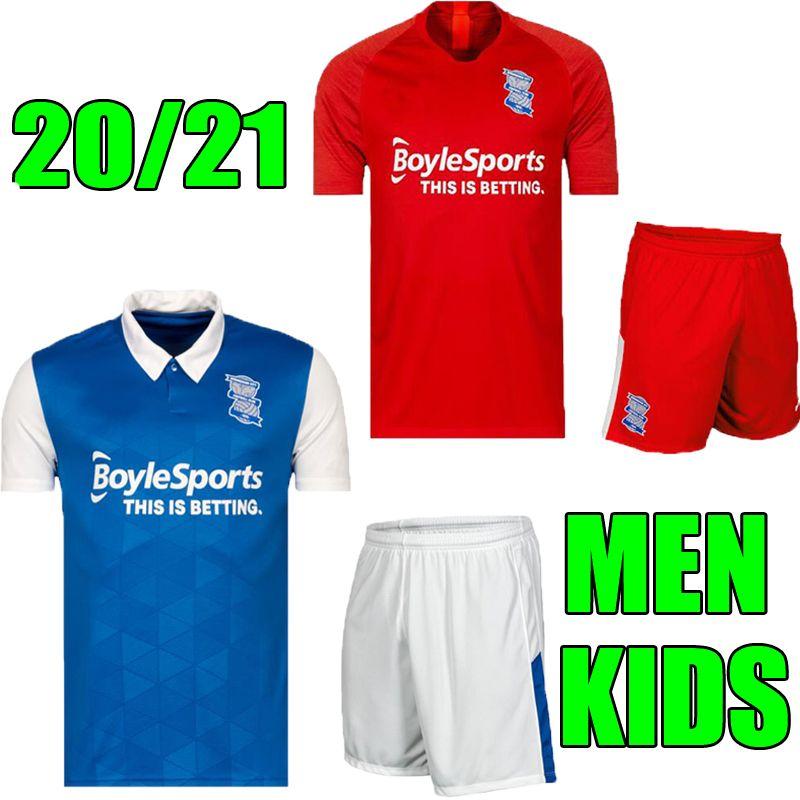 Men + niños 20 21 F. C. Birmingham Lukas Jutkiewicz casa camiseta de fútbol 2020 2021 Birmingham City Red Sam Gallagher camisetas de adultos niño