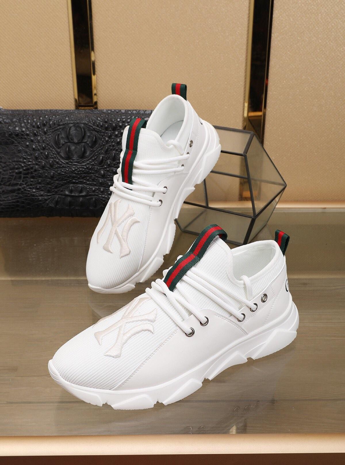 2021o stile personalizzato marea di marca degli uomini '; s scarpe casual, moda versatili Calzature sportive comode, inviare una serie completa di scatole di scarpe originali