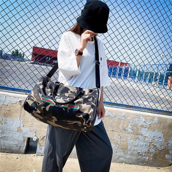bolsas última Cubo Bolsa Monedero de alta calidad geométrica bolsos de tela escocesa de la cadena del hombro Crossbody diamante láser Bolsa