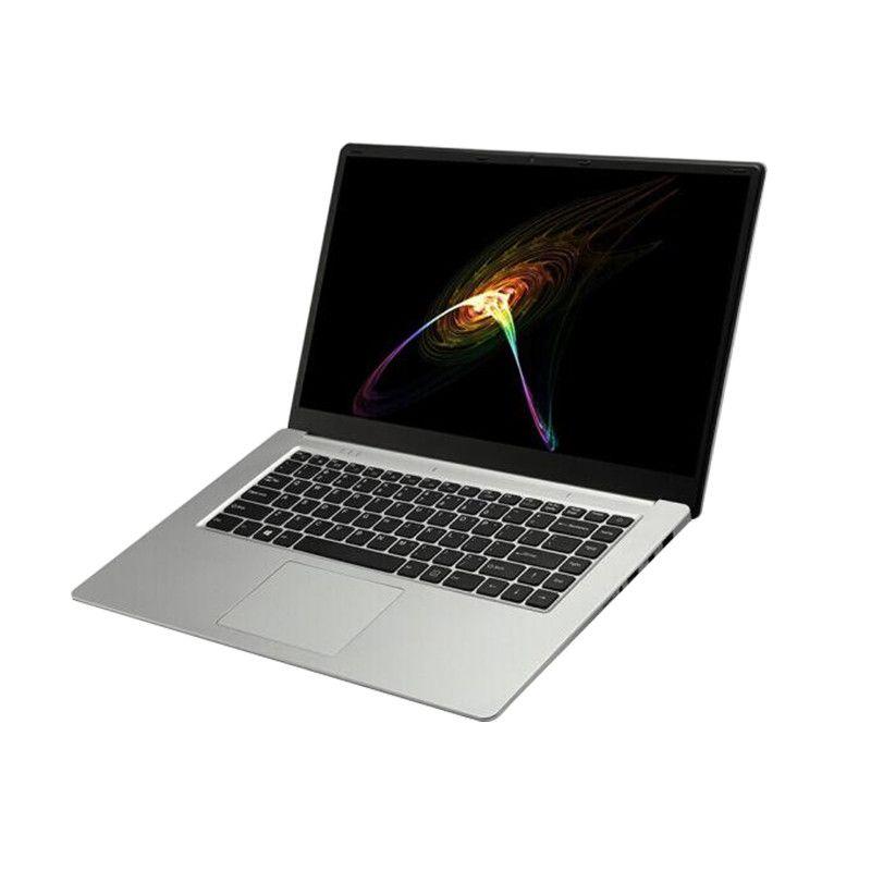 Freeshipping 15.6 J3455 Quad Core Caderno 8GB 512GB / 256GB / 128G SSD 15.6 polegada 1920 * 1080 IPS HD Tela Russo Laptop Computador