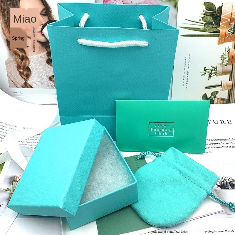 Verpackung hellgrüne Box zu Hause Verpackung Halskette Ring tihome Schmuckschatulle Schmuck T ZCk31