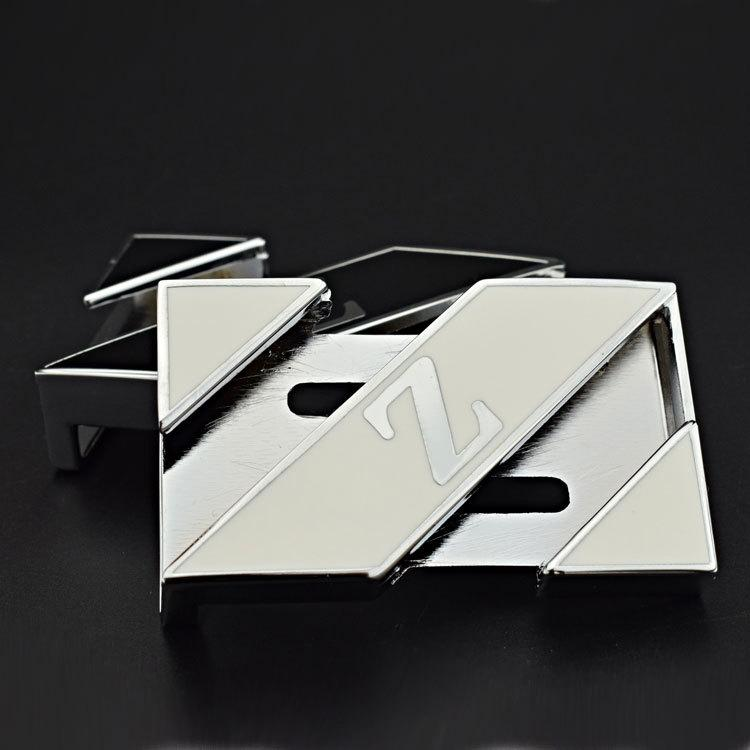 kf5pE carta de aleación Z smoothpersonalized moda casual de los hombres de aleación beltWhite letra Z smoothpersonalized cinturón de la moda de los hombres de la correa beltcasual