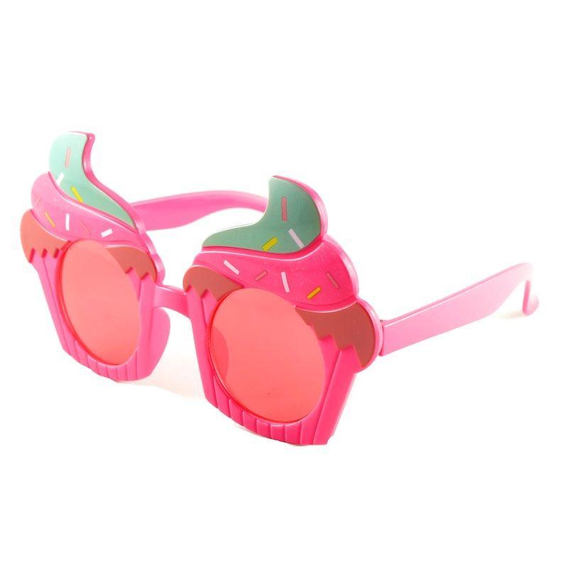 Nette Kinder Sonnenbrille Eiscreme Form Bunte Sonnenbrille UV400 für Jungen und Mädchen 5 Farben Großhandel