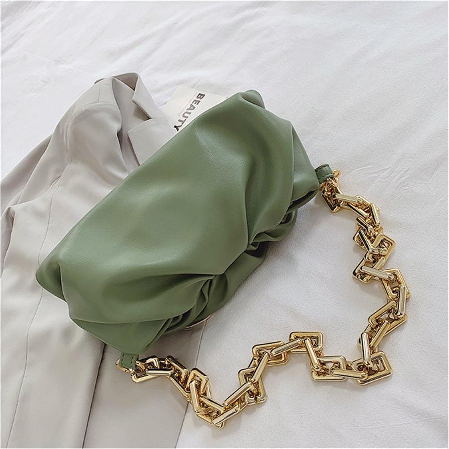 La venta caliente bolso de cuero de lujo de los bolsos de hombro mensajero de las mujeres NUEVO GRANDE totalizador del hombro del bolso de embrague de la nube Bolsas