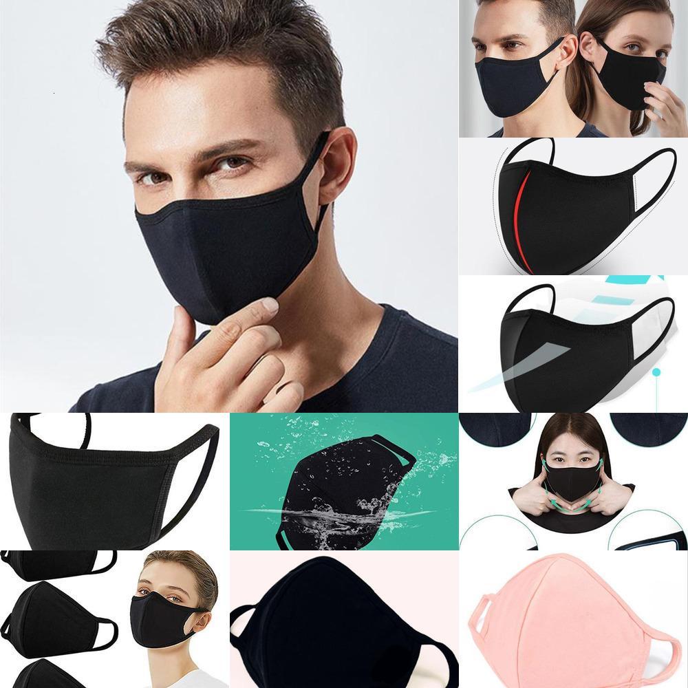 Staubmaske Farbe 4 PM2.5 Maske Gesicht Mund Respirator Staubdichtes Antibakteriell Waschbar Wiederverwendbare Ice Silk Cotton Werkzeuge Ventilation Dhb63