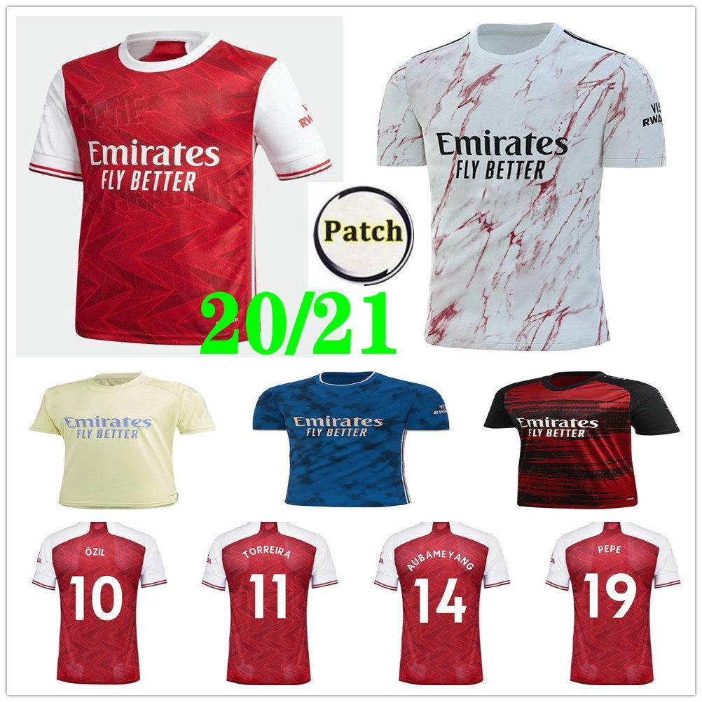 أرسين جيرسي 20 21 PEPE SAKA NICOLAS CEBALLOS سوكراتيس ميتلاند-NILES يليان مخصصة 2020 2021 رجل إمرأة قميص الاطفال كرة القدم للشباب لكرة القدم