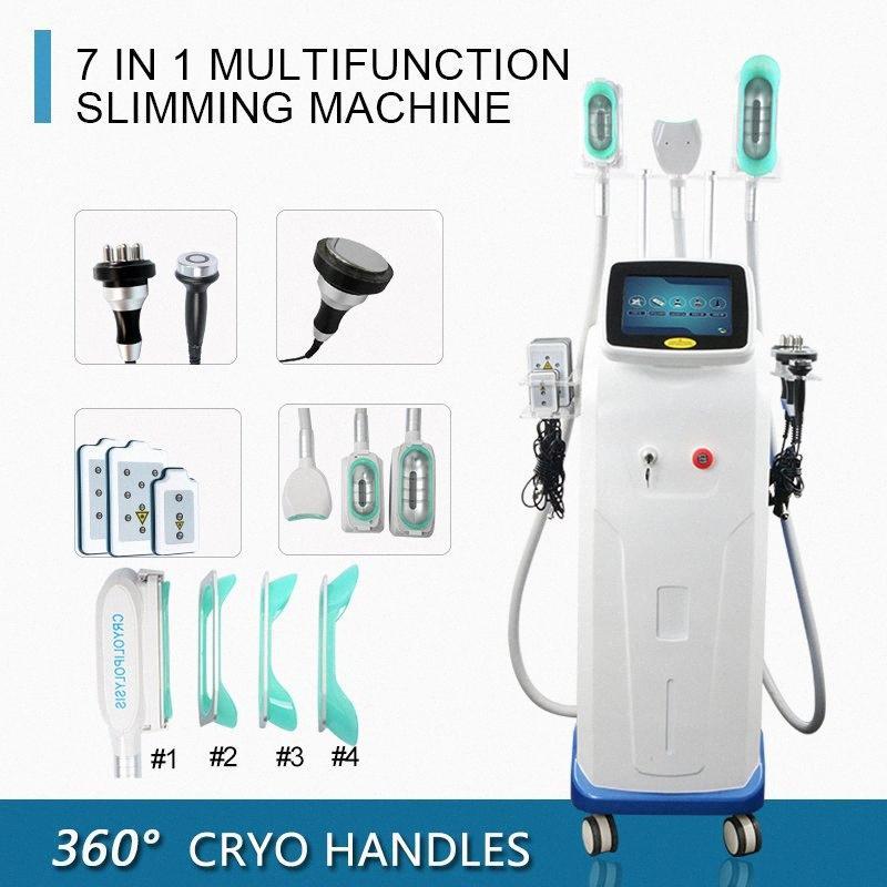 Rimozione multi funzionale Fat Fermo macchina sottile Cryo terapia Fat apparecchiature di bellezza Cavitazione Rf pelle serraggio Lipo Cryo macchina Pr B644 #