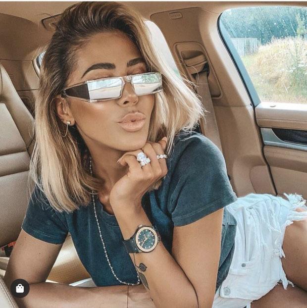 2020 النظارات الشمسية مربع النساء الرجال خمر العصرية مستطيل صغير الشمس نظارات الرجال الرجعية النظارات للجنسين الهيب هوب oculos