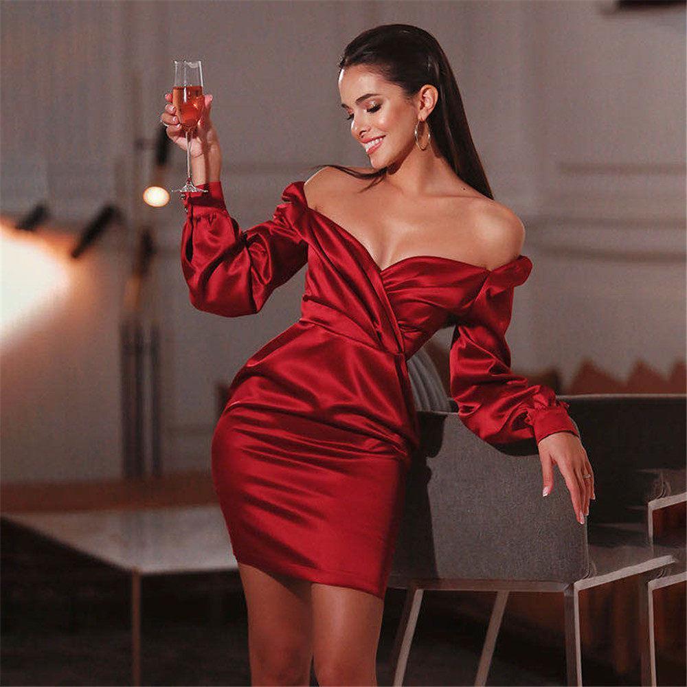 =ve Evening Dresses for Women Wear Lace Appliques M