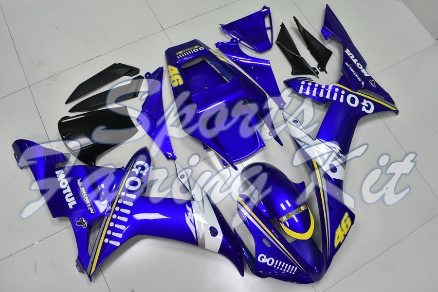 Kits de corpo para YZF R1 2002-2003 Motos carenagem para YAMAHA YZFR1 03 completa Kits Corpo YZF1000 R1 2003