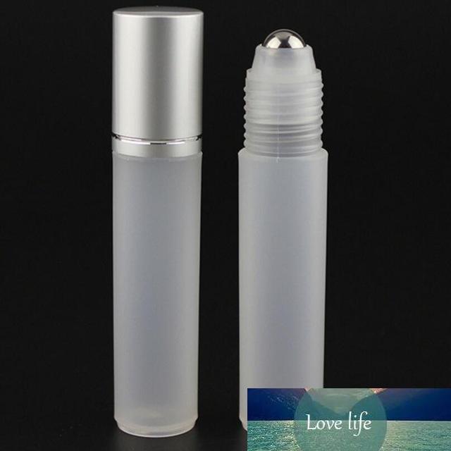 10 mL por grosso fosco frascos de perfume, rollerball vazio recipientes cosméticos rolo no frasco para o óleo essencial