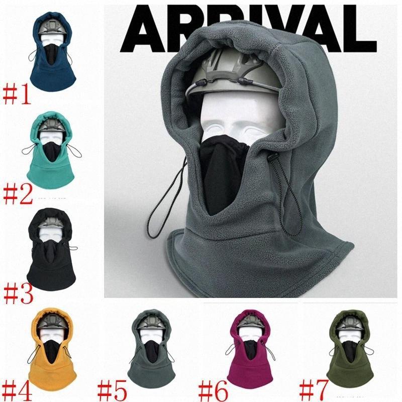 Maske Şapka Kış Doğa Sporları Kayak Fleece Eşarplar Hood Kulak Boyun Muhafız Motosiklet Kaskı Şapka Tam Yüz Maskeleri Isınma Binicilik Maskeler DHD kThV #