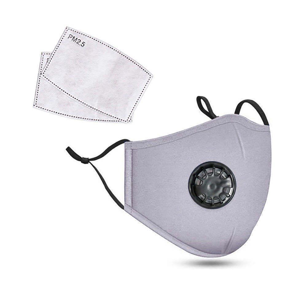 Luxus Masken Designer-Mode Gesichtsmaske Baumwolle Gesicht mit Atemventil Anti PM2.5 Staub direkt ab Werk Anti-Smog Staubnebel masks1