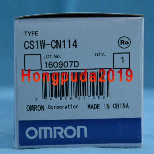 NEW IN BOX OMRON PLC CS1W-CN114 Connection Cable One year warranty