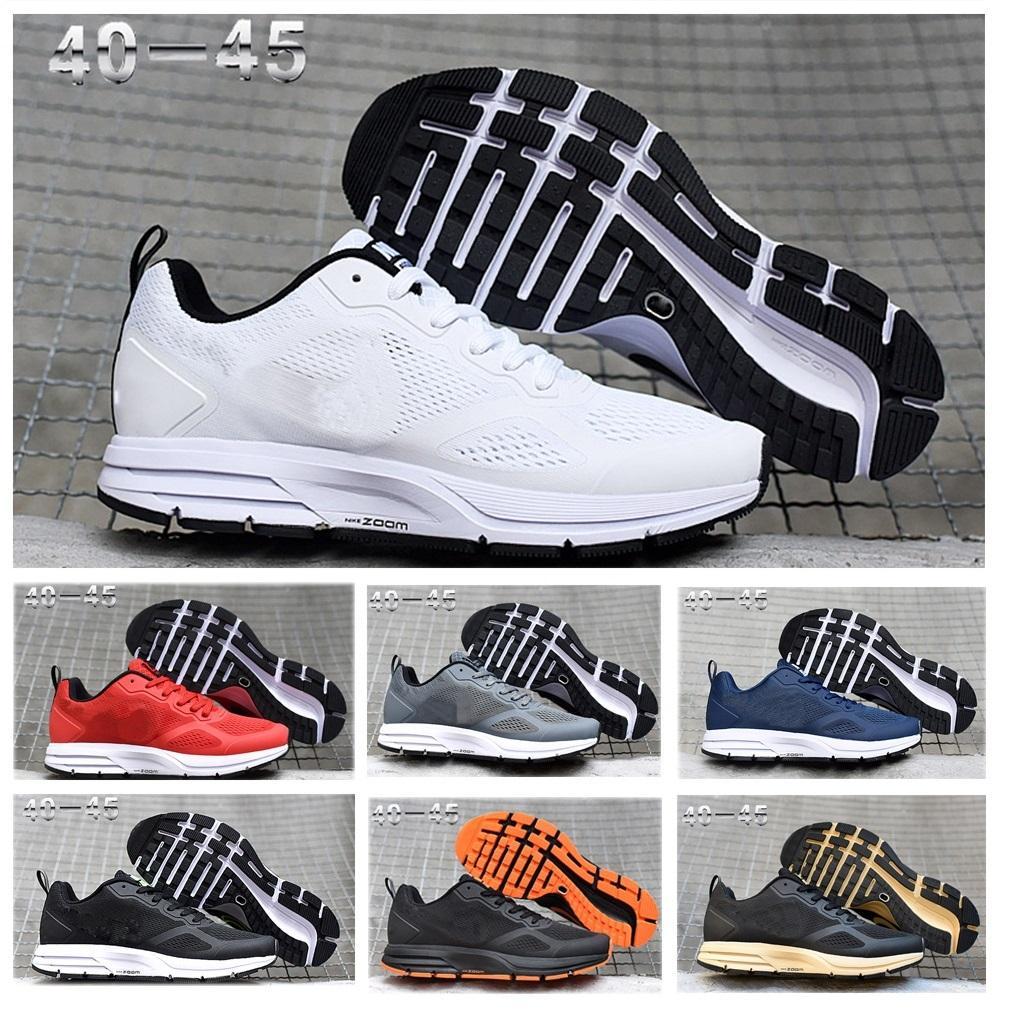 zoom 26X Air Pegasus zapatos casuales para hombre del diseñador 2020 hombres ocasionales con malla de aire lunares blancos negros formadores chaussures Zapatos zapatillas de deporte 40-45