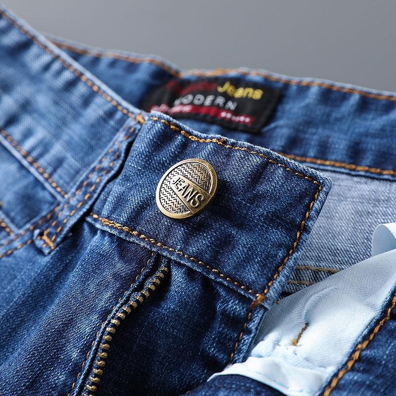 609 e 609 dos homens e calça jeans calça jeans reta de HyJtZ Homens 18zIj reta