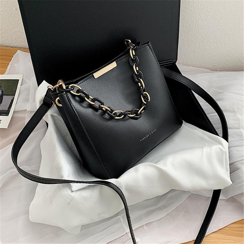 Saco das mulheres para a mulher Original Design Marca Bag Texture 2020 de Moda de Nova Cadeia Ombro Mensageiro Simples Joker Bucket