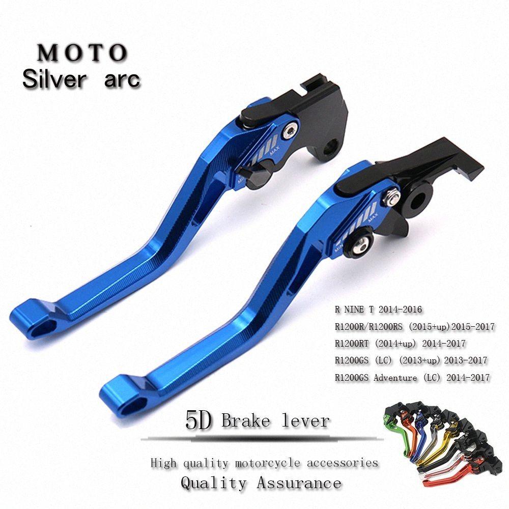 5D CNC freins de moto réglable embrayage leviers forBMW R1200GS LC K1600GT / GTL R NINE T kjuj #
