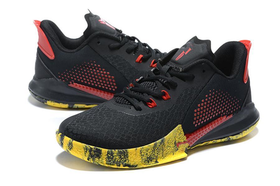 Black Mamba Fury EP Kırmızı Basketbol ayakkabıları 2020 İyi siyah beyaz mor Erkekler Kadınlar spor ayakkabı Boyut US7-US12