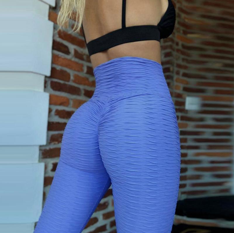 leggings donne di sport di forma fisica a vita alta pantaloni di yoga pancia controllo dimagrante Booty palestra legging Ascensore Collant ropa deportiva mujer