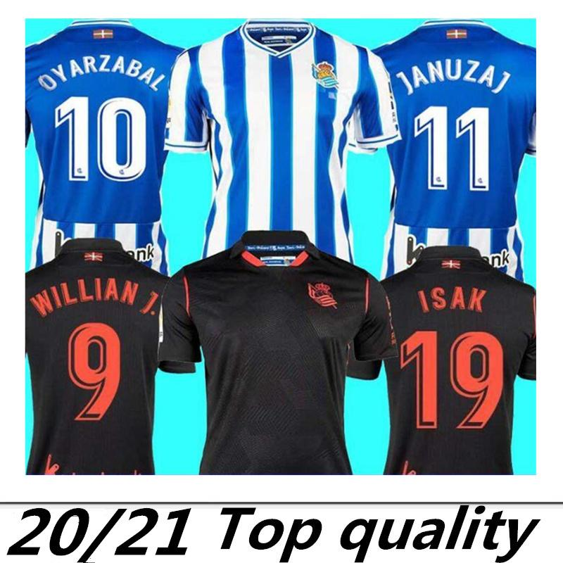 Real Sociedad 2020 2021 troisième OYARZABAL X PRIETO Agirretxe 3 Soccer Jersey GRANERO ODEGAARD juanmi 20 21 camiseta de futbol de football shirt
