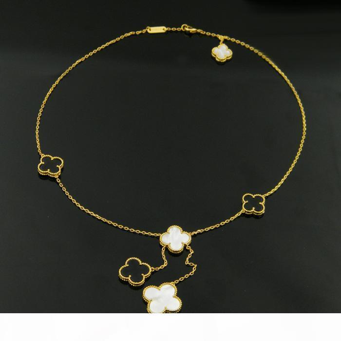 İnci kolye kolye Püsküller Aşk Expend Glory Riches Kadın V Partisi Of Anne Titanyum Kolye 1906 Klasik Mücevher