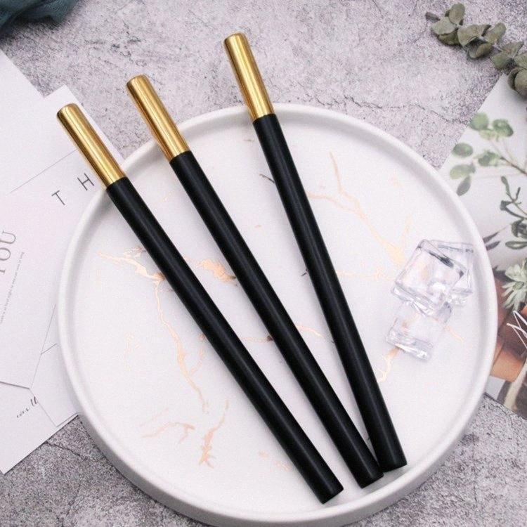 2020 Boisson en acier inoxydable Paille Noir Or Simplicité jus Paille Cuisine extérieure Outils 215 * 12mm réutilisable StrawsT2I5764 1 Violet P Jxt6 #