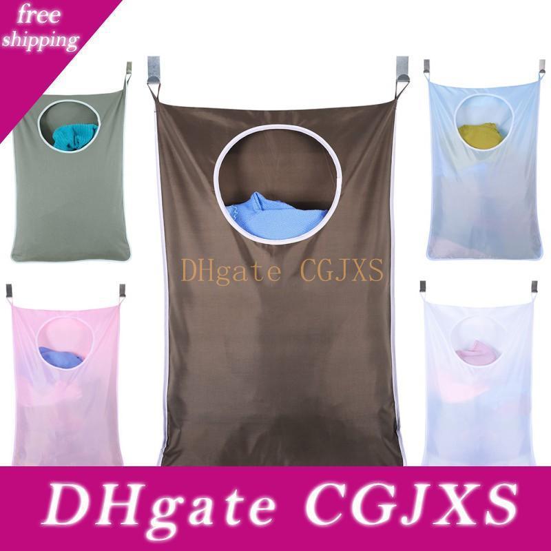 Home Storage appendere sacchetti Borse grandi -Capacity sporco lavanderia abiti dietro le porte portatili durevoli Oxford Borse