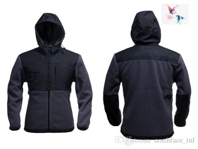2019 Brand Uomo Oudoor Polartec Softshell Giacca North Maschile Sports Face Fleece Men Cappotto Apexs Hoode