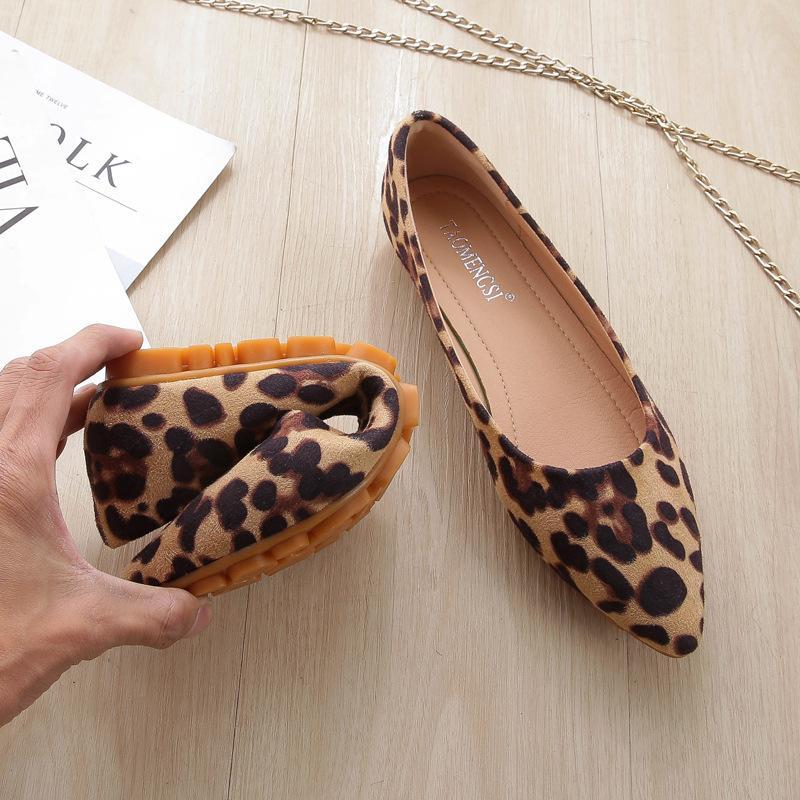 Ayakkabı Modelleri Avrupa Bahar kadın Zapatos Toe Düz Sivri Sivri Kadın Mujer Büyük 33-43 2020 de Boyutu Tguup