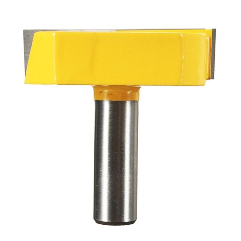 1 Satz Holzbodenholzschneidemaschine Holzbearbeitung Clearing Messer Beschnitt Schaftfräser Schneidwerkzeug