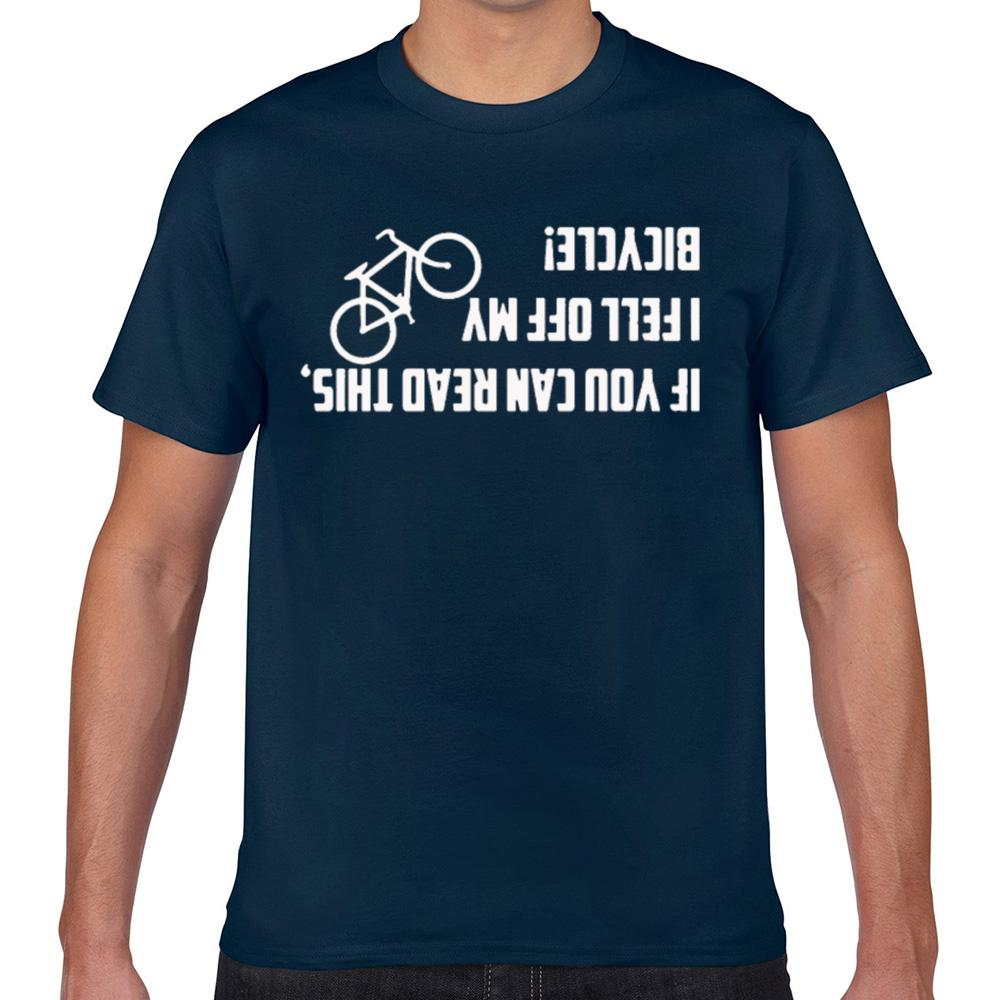 Топы Футболка Мужчины Мой велосипед Funny Funny White Geek Хлопок Мужчины Tshirt Xxx