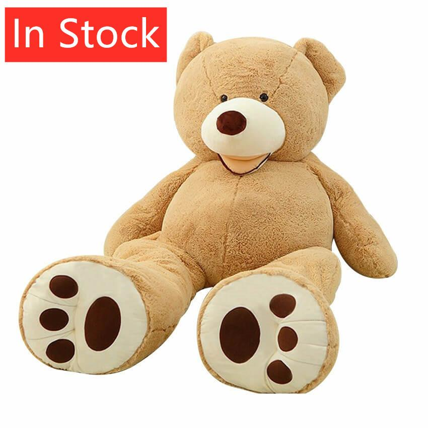 Costco American Giant Gigantic Teddy Bear Life Size Doll Big Huge Plush Toys Stuffed Animals Soft Toys Kids Love Valentines Day
