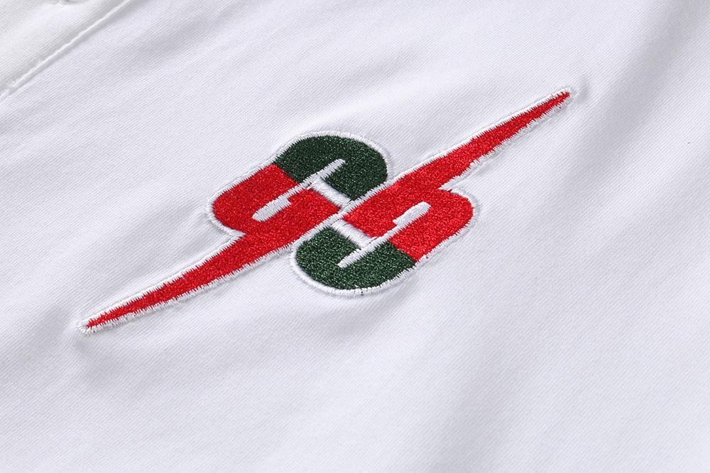 2020 Camicie Shirt T Designer Polo a righe Snake Polo Bee ricamo floreale Mens High Street Fashion Horse Mens PoloT-shirt