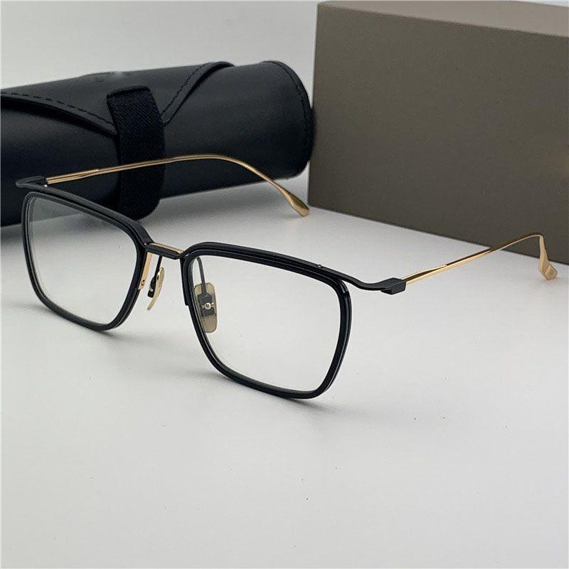 Miopia espetáculos masculinos masculinos lendes quadros marca famosa desinger deserta quadro óptico forma quadrada ouro moda mulher óculos jeirj