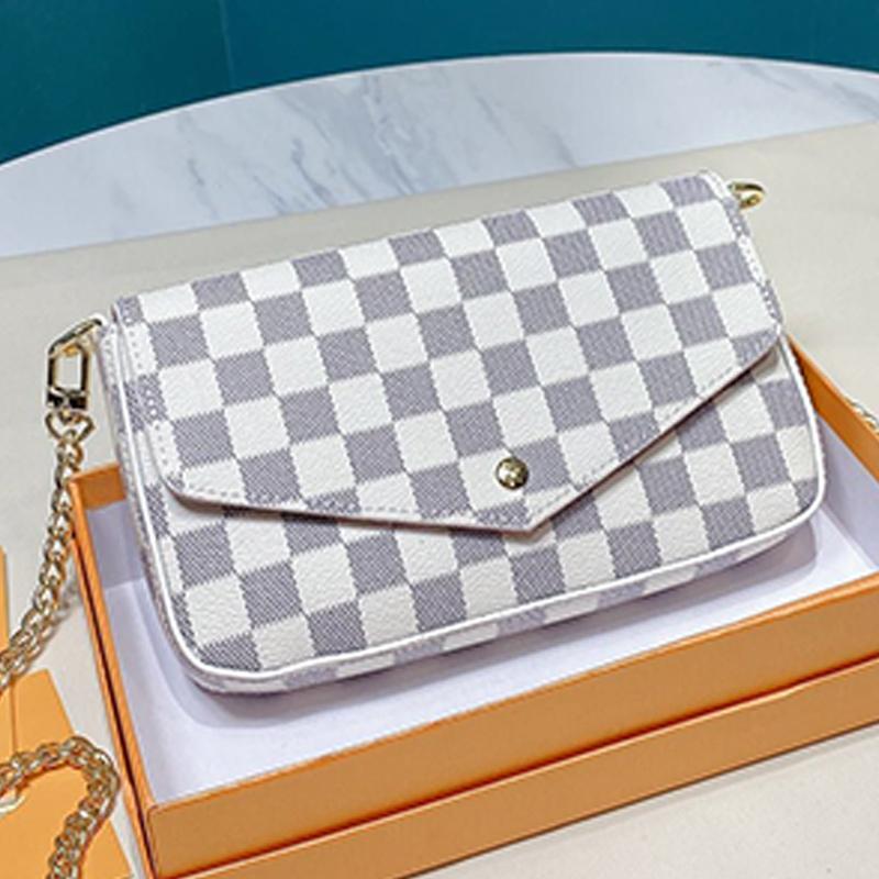 Moda Crossbody Bags For Leather Bag Women della borsa Bianco Stampa la catena della spalla del corpo della traversa Crossbody Borse Telefono Pockets Bag Type6