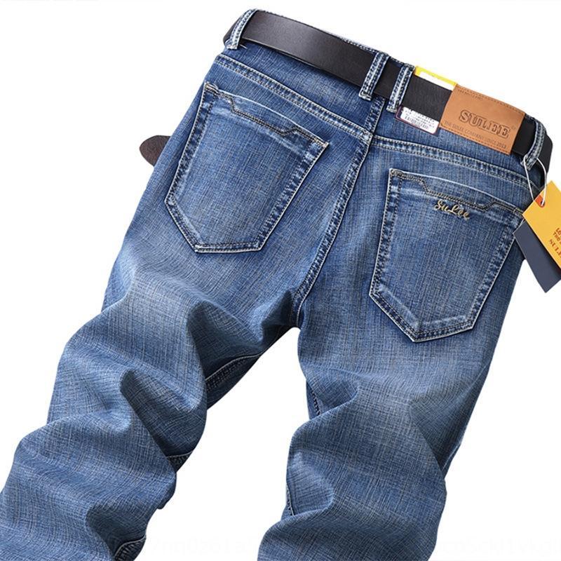 k1Ds6 джинсы SULEE джинсы HFjrN мужские прямые рыхлый 2020 новая весна и лето пригонки стильный и для молодых мужчин