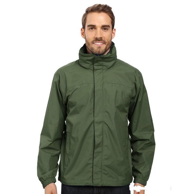 Mens jaqueta primavera outono outwear casacos windbreaker hoodie zipper moda capuz casaco ao ar livre desporto asiático tamanho roupa