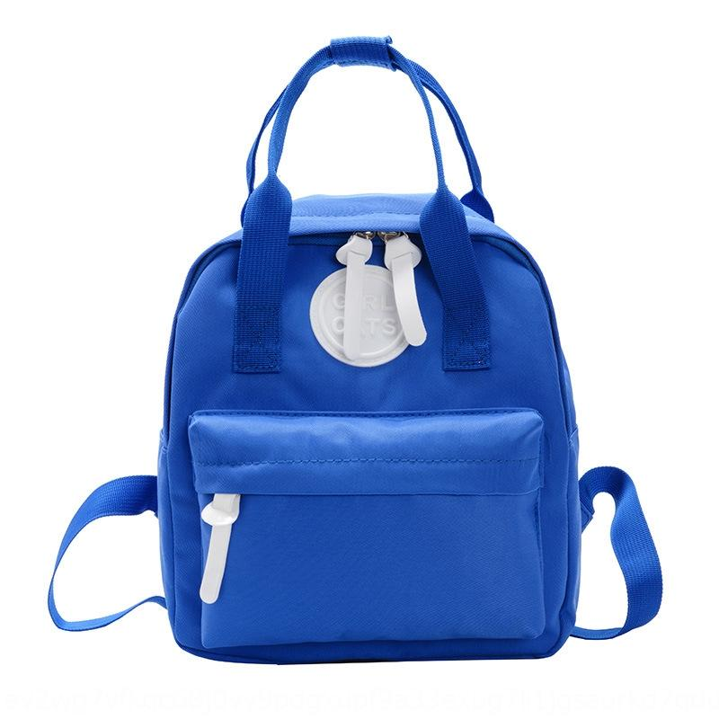 Нейлон Сумочка рюкзака водонепроницаемого детского школьного детского сад родитель-ребенок Руки bagstyle битник Досуг на открытом воздухе рюкзак