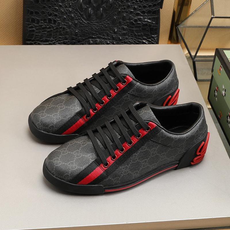 Haute Qualité Hommes Chaussures Luxe classique confortable Footwears extérieur marche dentelle -Jusqu'à Low Top Chaussures de sport Hommes Chunky Sneakers Kuitixm