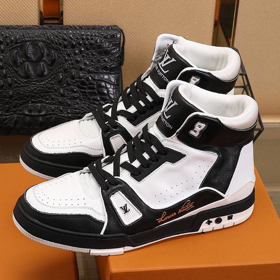 Nouvelle liste de personnalité fraîche Rue Hommes Chaussures de sport, Casual Mode Hommes Respirant Chaussures de sport Chaussures montantes Casual taille 38-45 00024