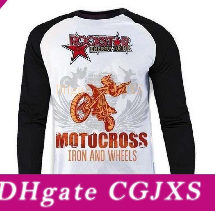 Hot -SELLING Polyester Schnell -TROCKENTUNNEL Lange T -Shirt Motorradsport Lange sleeved Motorrad Geschwindigkeit Tropfen kann angepasst werden