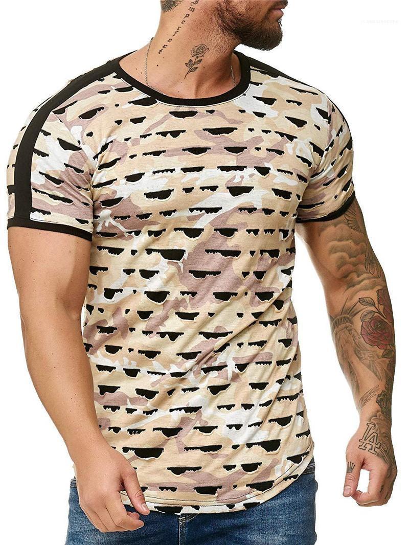 Casual T-Shirt Pois Homme Sport Vêtements Imprimé 3D Designer Hommes T-shirt Mode Hommes de col rond