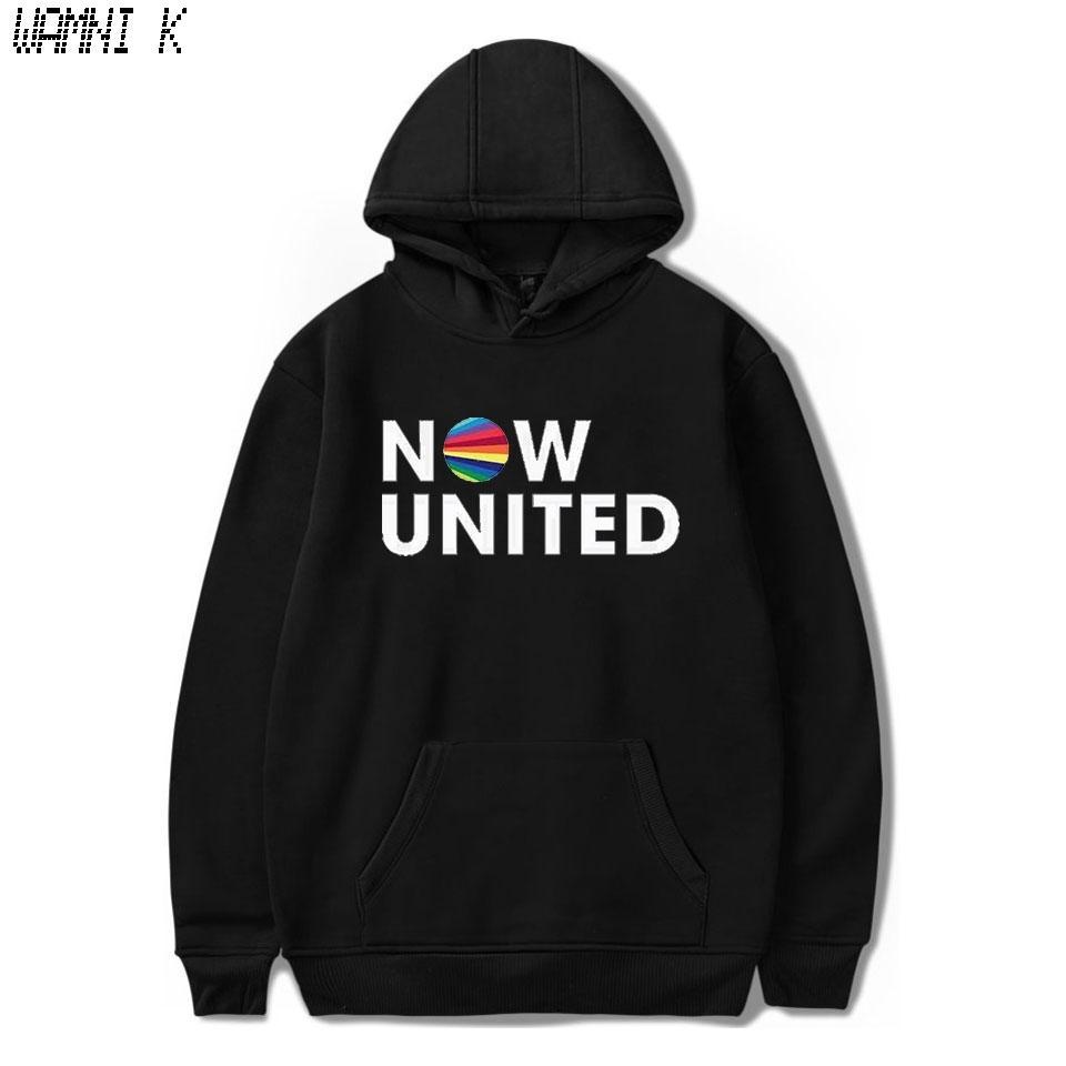 WAMNI 2020 Maintenant United - Meilleur Album Hoodie Sweat Hommes Femmes Better Now United Paroles Pull unisexe Harajuku Tracksui MX200812